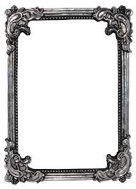 Ornate Gold and Silver Round Frame by EveyD on DeviantArt