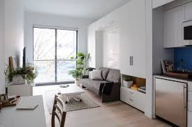 Small Space Living In MicroApartments NYC Architectural Digest - Small new york apartments interior