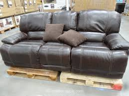 cheers clayton motion leather loveseat costco 3