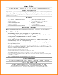 8 Medical Billing Resume Sample New Hope Stream Wood