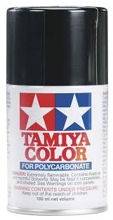 Tamiya Ps Paint Chart Tamiya Ps 5 Polycarbonate Spray Black 3 Oz