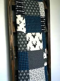 quilts rustic quilt bedding baby boy quilt rustic quilt plaid quilt blue buffalo plaid lumberjack