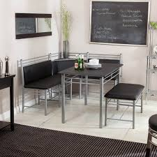 black kitchen dining sets: modern breakfast nook set hay dining room set with a bench