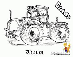Small Picture Coloring Pages John Deere Tractor Coloring Page Of Farm Tractor