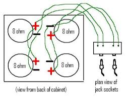 fender twin sf and marshall cab question musicplayer forums i m still confused but have drawn a rough diagram to show how the 4x12 is wired after i checked it out again