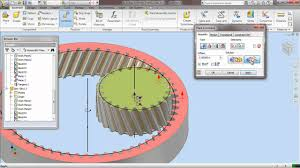 helical gear internal dynamic simulation through autodesk inventor 2010 you