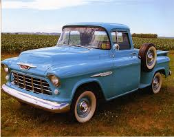 Truck chevy 1955 truck : 1955 CHEVROLET 3100 PICKUP - 81296