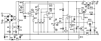 vdc digital pic power supply schematic design 0 30v stabilized variable power supply current control