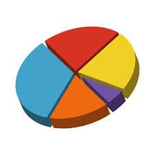 Pie Chart Vector Icon Download Free Vectors Clipart