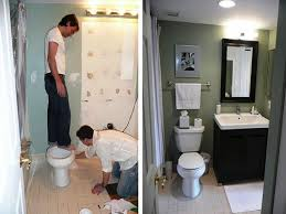 bathroom remodeling ideas small bathroom. Simple Small Image Of Small Bathroom Renovation Before And After Intended Remodeling Ideas P
