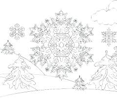 Snowflake Coloring Page Snowflakes Coloring Page Coloring Pages Of