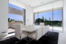 fresh contemporary white dining rooms