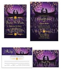 disney tangled wedding invitations available as by yensiddesign Purple Disney Wedding Invitations tangled inspired wedding invitation save the by jasminevictoria Elegant Wedding Invitations