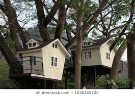 Treehouses for kids Big Treehouse For Kids In The Garden Shutterstock Treehouse Images Stock Photos Vectors Shutterstock
