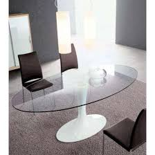 oval glass dining table. Oval Glass Dining Room Table Decoration Ideas