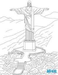 corcovado statue in rio coloring page find your favorite coloring page on okids we have selected the most por coloring pages like corcovado