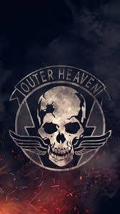 i made an outer heaven iphone6 wallpaper ur