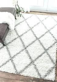 furry white rug black and white round area rug area rugs large rugs furry white rug