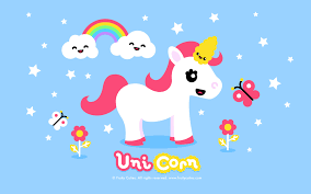 Fruity Cuties Wallpaper - Cute Unicorn ...