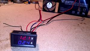 how to wire digital dual display volt and ammeter diy projects wired and testing load