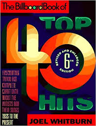 Billboard Top Chart Songs The Billboard Book Of Top 40 Hits Billboard Book Of Top