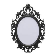 vintage black frame. Ornate Black Frame | By Salvage Life Vintage F