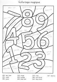Fresh Coloriage Magique Pour Cm1 Imprimer Mega Coloring Pages