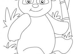 Small Picture Panda Coloring Pages Coloring4Freecom
