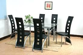 glass top dining table sets catchy glass top dining table and chairs glass top dining table