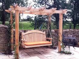 Small Picture The 25 best Wooden swings ideas on Pinterest Wooden tree swing