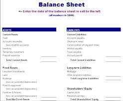 basic balance sheet awesome basic personal balance sheet template vlashed