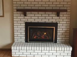 cost to convert gas fireplace electric direct vent efficiency how install an insert in existing wood
