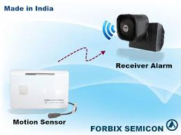 motion sensor wireless alarm forbix semicon