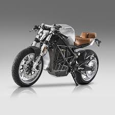 the cafe racer from e racer motorcycles