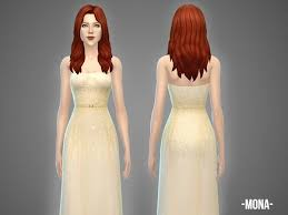 The Sims Resource: Mona - gown by April • Sims 4 Downloads | Sims 4  clothing, Gowns, Clothes for women