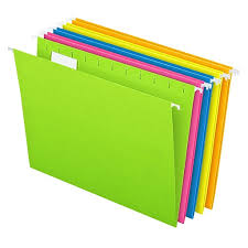 Image Smead Pendaflex Essentials Glow Hanging File Folders Tab Positions Letter Size Assorted Glow Colors 25box 81672 Staples Staples Pendaflex Essentials Glow Hanging File Folders Tab Positions