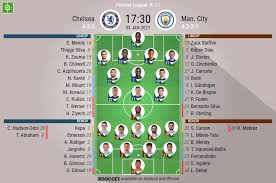 The confirmed chelsea lineup and team news for the last three games. Chelsea V Man City As It Happened