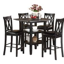 high top dining set. kathie 5 piece counter height dining set high top