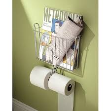 Bathroom Paper Gorgeous InterDesign Classico Wall Mount Toilet Paper Roll Holder With