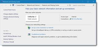 windows 10 tip how to change the network type from public to how to change the network type from public to private in windows 10