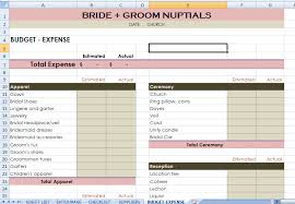 Wedding Excel Checklist Wedding Checklist Excel