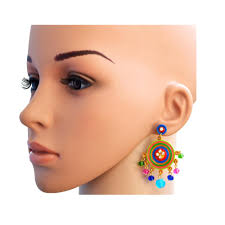 kaagitham multicolored chandelier earrings kaagitham multicolored chandelier earrings kaagitham multicolored chandelier earrings