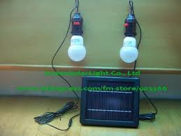 Solar Panel Light Bulb 20w Solar Panel 21w Bulb A Perfect Match Solar Powered Lighting Kits