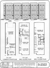 Notable for large bedrooms size in row houses plan suggested converting to a garage carport would give room for an extra bedroom office etc but would