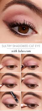 sultry shadowed cateye gorgeous easy makeup tutorials for brown eyes