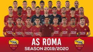 AS Roma Official Squad 2019/2020 - YouTube