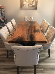 Custom Made Live Edge Mesquite Dining Table Dream Home In 2019
