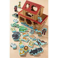 28 Pieces Melissa & Doug Noah's Ark Shape Sorter 13786 Toys ...