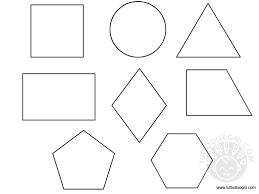 Figure Geometriche Da Colorare Fredrotgans
