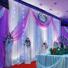 wedding decoration 1 5 5m wedding silk satin fabric wedding